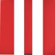 Микрофибра, комбинация красного и белого