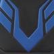 Микрофибра, комбинация черного и синего