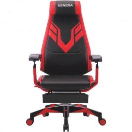 GENIDIA MARS геймерское кресло с подставкой для ног