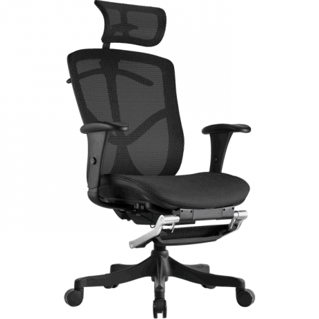 Компьютерное сетчатое кресло с подставкой для ног BRANT STANDART
