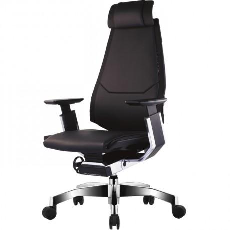Эргономичное кожаное кресло для руководителя GeniDia LUX
