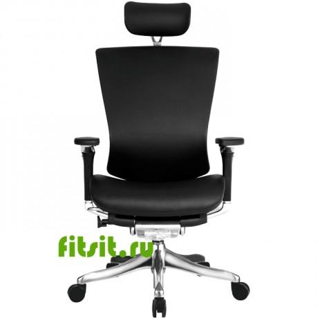 Эргономичное кожаное кресло для руководителя NEFIL LUXURY