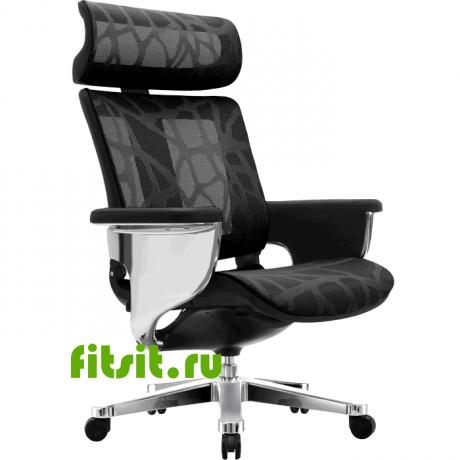 Компьютерное сетчатое кресло реклайнер NUVEM Mesh