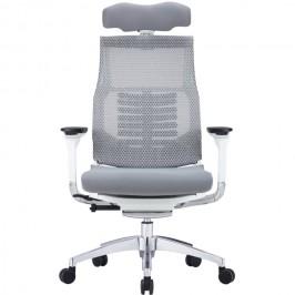 Анатомическое компьютерное кресло POFIT Bionic White