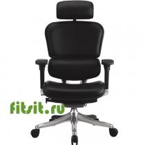 Эргономичное кожаное кресло для руководителя ERGOHUMAN Plus Lux
