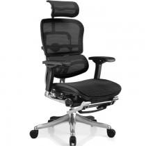 Компьютерное кресло с подставкой для ног ERGOHUMAN Plus Station