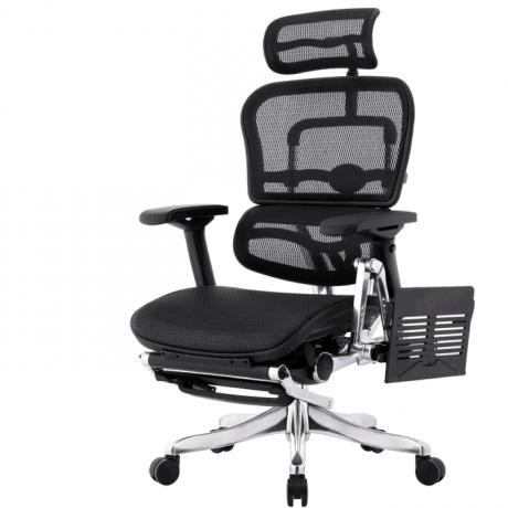 Ergohuman Plus Station кресло с подножкой и столиком для ноутбука